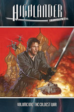 Image: Highlander Vol. 01: Regular cover SC  - D. E./Dynamite Entertainment