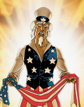 Image: Uncle Sam and the Freedom Fighters #8 - DC Comics