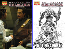 Image: Battlestar Galactica: Origins #6 (Photo Cover) - D. E./Dynamite Entertainment