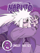 Image: Naruto Uncut Box Set Vol. 08  (DVD) -