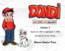 Image: Dondi Vol. 02: March 18, 1957 to September 7, 1958 SC  - Classic Comics Press Inc