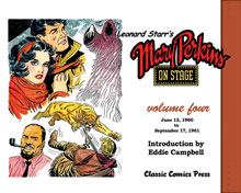 Image: Leonard Starr's Mary Perkins on Stage Vol. 04 SC  - Classic Comics Press Inc