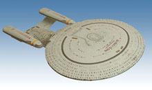 Image: Star Trek U.S.S. Enterprise NCC-1701-D Electronic Starship  -