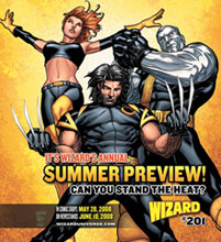 Image: Wizard Magazine #201 (Summer Preview cover) - Wizard Entertainment