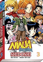 Image: Ninja High School: Shidoshi Vol. 03 SC  - Antarctic Press