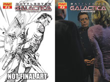 Image: Battlestar Galactica: Origins #8 - D. E./Dynamite Entertainment