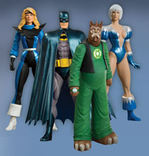 Image: JLI Series 1 Action Figure Set  (4) -