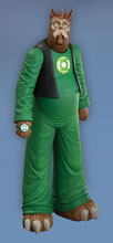 Image: JLI Series 1 Action Figure: Gnort  -