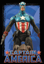 Image: Marvel Select Action Figure: Captain America  -