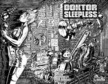 Image: Doktor Sleepless #9 (wraparound cover)  - Avatar Press Inc
