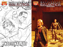 Image: Battlestar Galactica: Origins #9 - D. E./Dynamite Entertainment