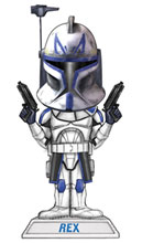 Image: Star Wars: Clone Wars Bobblehead - Captain Rex  -