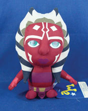 Image: Star Wars: Clone Wars Super Deformed Plush - Ahsoka  -