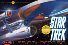 Image: Star Trek U.S.S. Enterprise NCC-1701 Model Kit  -