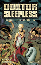 Image: Doktor Sleepless #10 - Avatar Press Inc