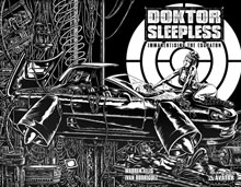 Image: Doktor Sleepless #10 (wraparound cover) - Avatar Press Inc