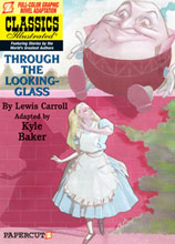 Image: Classics Illustrated Graphic Novel #3: Through the Looking-Glass HC  - Papercutz