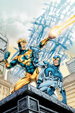 Image: Booster Gold Vol. 02: Blue and Gold HC  - DC Comics