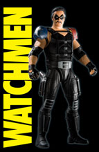 Image: Watchmen Movie Action Figure: The Comedian