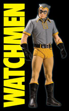 Image: Watchmen Movie Action Figure: Nite Owl  (Classic) -