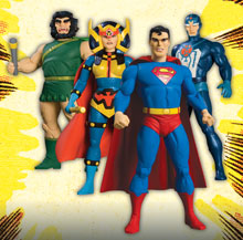 Image: New Gods Series 2 Action Figure Set  (4) -