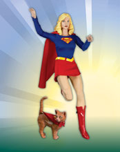 Image: Supergirl Classic 1:6 ScaleDeluxe Collector's Figure  -