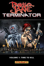 Image: Painkiller Jane vs. Terminator Vol. 01 SC  - D. E./Dynamite Entertainment