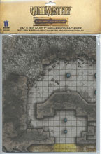 Image: Gamemastery Flip-Mat: Darklands  - Paizo Publishing LLC