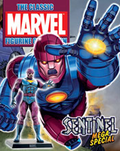 Image: Classic Marvel Figurine Collection Magazine Mega-Special: Sentinel  -