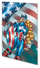 Image: American Dream: Beyond Courage SC  - Marvel Comics
