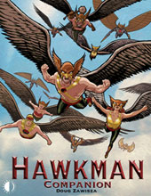 Image: Hawkman Companion SC  - Twomorrows Publishing