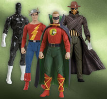 Image: Justice Society of America Series 1 Action Figure Set  (4) - DC Comics