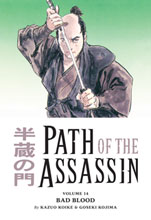 Image: Path of the Assassin Vol. 14: Bad Blood SC  - Dark Horse