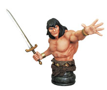 Image: Robert E. Howard's Conan: The Savage Sword Collection Bust - Conan  - Dark Horse