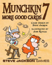 Image: Munchkin 7: More Good Cards  - Steve Jackson Games