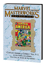 Image: Marvel Masterworks Vol. 111: Golden Age Captain America Nos. 8-12 HC  - Marvel Comics