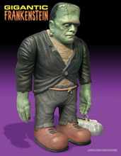 Image: Gigantic Frankenstein Model Kit  -