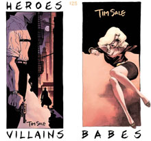 Image: Tim Sale: Heroes, Villains & Babes Sketchbook  - Active Images