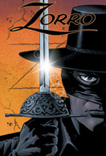 Image: Zorro Year One Vol. 01 HC  (Variant cover) - D. E./Dynamite Entertainment
