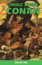 Image: Savage Sword of Conan Vol. 05 SC  - Dark Horse
