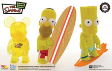 Image: SDCC 2008 Simpsons 3-Inch Qee 3-Pack  -