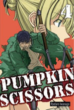 Image: Pumpkin Scissors Vol. 04 GN  - Del Rey Manga