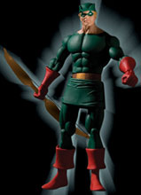 Image: History of the DC Universe Series 1 Collector Action Figure: Green Arrow  -