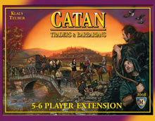 Image: Settlers of Catan: Traders & Barbarians 5-6 Player Expansion  - Mayfair Games