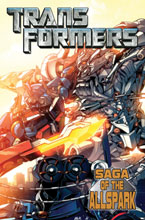 Image: Transformers Movie Prequel: Saga of the Allspark SC  - IDW Publishing