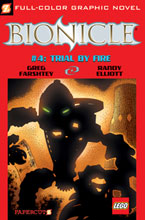Image: Bionicle Vol. 04: Trial by Fire GN  - Papercutz