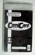 Image: Polyethylene Bags: Silver Age Size  (100) (SUPPLY106) -
