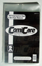 Image: Polypropylene Bags: Silver Age Size  (100) -