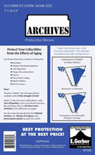 Image: Archives Sleeves: Current Size  (7x10-1/2) (50) -