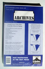 Image: Archives Sleeves: Standard Size  (50) (SUPPLY624) -